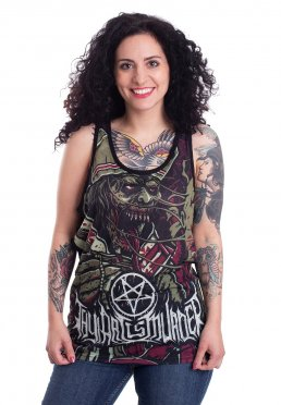bc321eeccde9 Add to favorites · Thy Art Is Murder - Evil Pope Allover - Tank