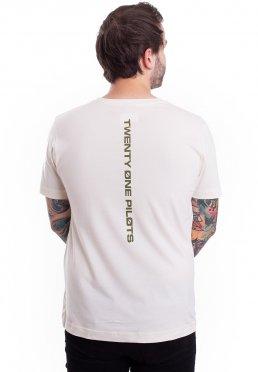 08cd22a2a0370 Twenty One Pilots - Jumpseal Natural - T-Shirt