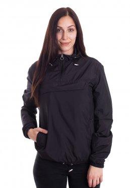 3249fed9 Toevoegen aan wensenlijst · Urban Classics - Basic Pull Over Black - Jacket