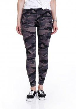 55a5c271c0530 Zu Favoriten hinzfügen · Urban Classics - Camo Dark Camo - Leggings