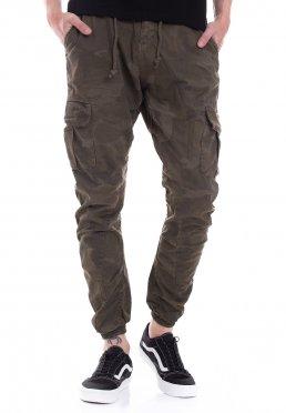 50d4273893c1 Přidat do seznamu přání · Urban Classics - Camo Cargo Olive Camouflage -  Pants