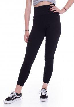 9d9bd3cec7c2a3 Add to favorites · Urban Classics - High Waist Jersey Black - Leggings