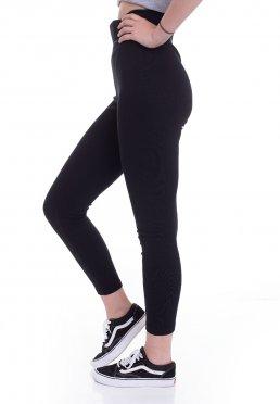 1ddcb9b136ded Urban Classics - High Waist Jersey Black - Leggings