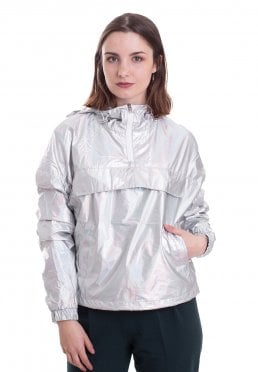 d9596b9948849f Add to favorites · Urban Classics - Holographic Silverholographic - Jacket