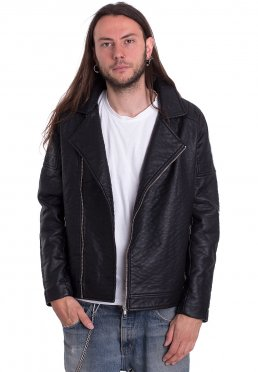 Urban Classics - Leather Imitation Biker - Leren Jas 85995f1155