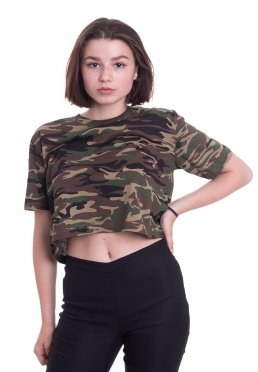 e2bbaaa9516b74 Add to favorites · Urban Classics - Short Oversize Wood Camo - Top