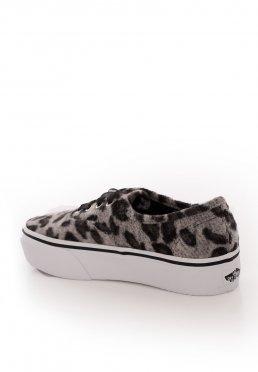 eee59b06afb350 Lägg till i önskelista · Vans - Authentic Platform 2.0 Fuzzy Snow Leopard - Girl  Shoes