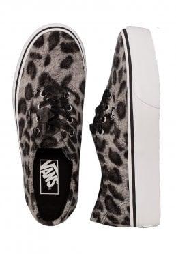Vans - Authentic Platform 2.0 Fuzzy Snow Leopard - Girl Schuhe 82ac0fbff
