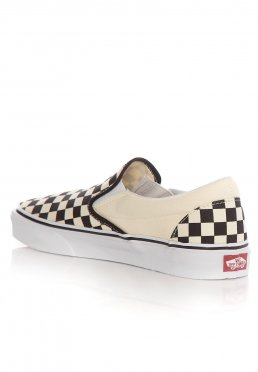 f5e043a25 Vans - Classic Slip-On Black White Checkerboard - Zapatos
