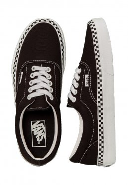 4f5d791157 Vans - Era Check Foxing Black True White - Girl Schuhe