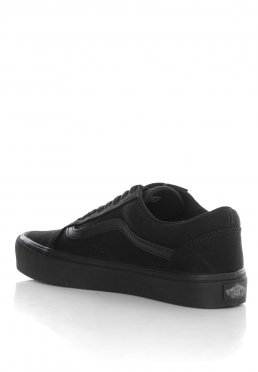3386dd40fef Add to favorites · Vans - Old Skool Lite Canvas Black Black - Girl Shoes