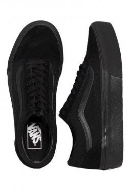 Add to favorites · Vans - Old Skool Platform Black Black - Girl Shoes 0b73296dc
