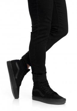 4b83775d7f2 Vans - Sk8-Hi Lite Canvas Black Black - Schuhe