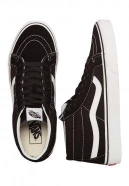 Vans - Sk8-Mid Reissue Black True White - Girl Schuhe 3a6b41ca1
