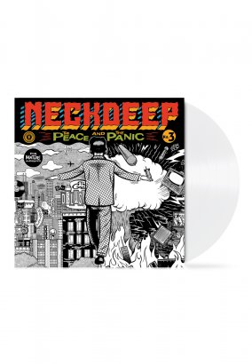 Neck Deep - The Peace And The Panic White - Colored LP