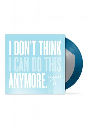 Moose Blood - I Don't Think I Can Do This Anymore Silver Inside Dark Blue - Colored LP