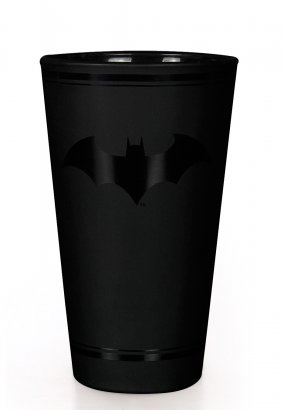 Batman - Black Logo - Glas