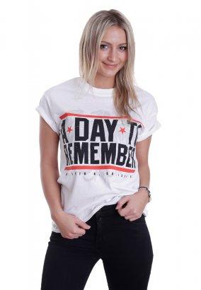 A Day To Remember - Hardcore White - Camiseta