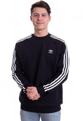 Adidas - 3-Stripes Black - Sweater