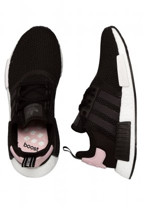 Adidas - NMD_R1 W Core Black/Ftwr White/Clear Pink - Girl Schuhe