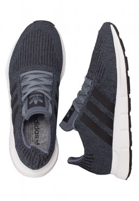 Adidas - Swift Run Steel/Core Black/Ftw White - Shoes