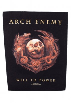 Arch Enemy - Will To Power - Backpatch