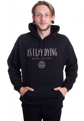 As I Lay Dying - Shaped By Fire Cover - Hoodie