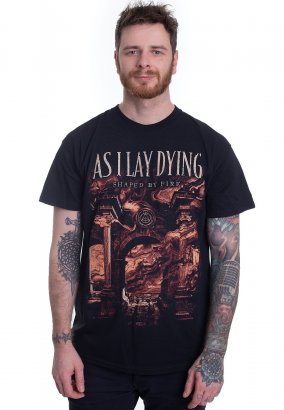As I Lay Dying - Shaped By Fire Cover - T-Shirt