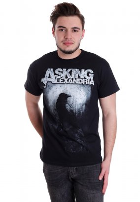 Asking Alexandria - Black Crow - T-paita