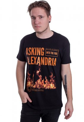 Asking Alexandria - Flames - T-Shirt