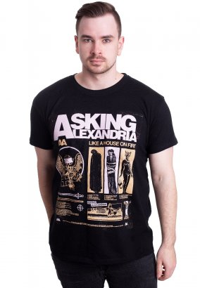 Asking Alexandria - Like A House On Fire - T-Shirt