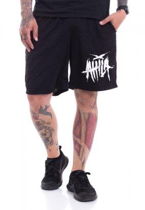 Attila - Scratched Logo Zip - Pantaloncini