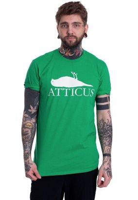 Atticus - Brand Logo Irish Green - Camiseta