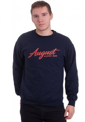 August Burns Red - Scriptlogo Navy - Tröja