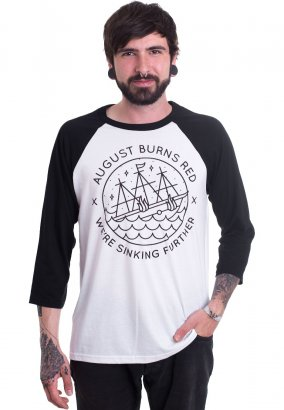 August Burns Red - Sinking Ship White/Black - Tshirt manches longues