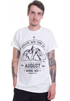 e22180ea760 August Burns Red - Thin Air White - T-Shirt
