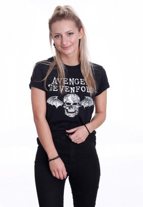 Avenged Sevenfold - Death Bat Logo - T-paita