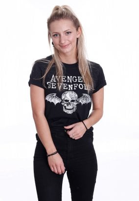 Avenged Sevenfold - Death Bat Logo - T-shirt