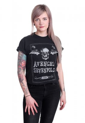 Avenged Sevenfold - Face Card - T-shirt