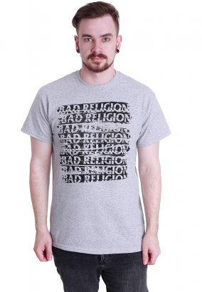Bad Religion - Repeater Grey - T-Shirt