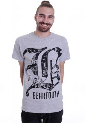 Beartooth - Collage B Sportsgrey - Camiseta