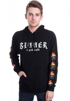 Black Craft Cult - Sinner Black - Hoodie