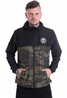 Black Craft Cult - Staple Black On Camo Lightweight - Jas