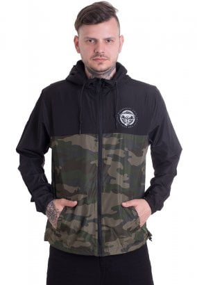 Black Craft Cult - Staple Black On Camo Lightweight - Casaco