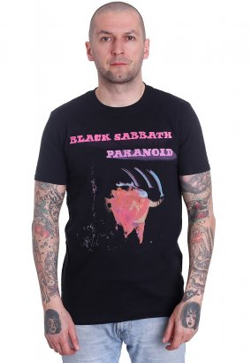 Black Sabbath - Paranoid Motion Trails - T-shirt
