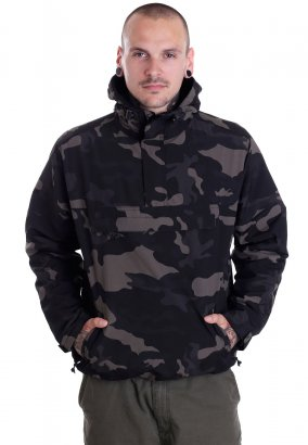 Brandit - Windbreaker Darkcamo - Coupe vent