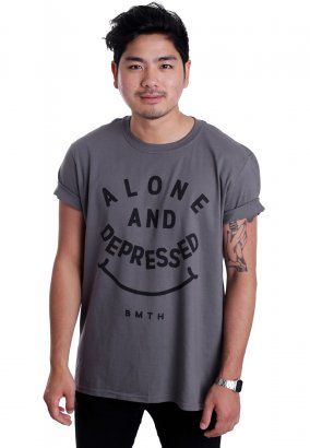 Bring Me The Horizon - Alone & Depressed Charcoal - T-Shirt