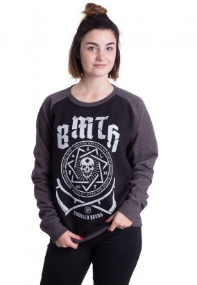 Bring Me The Horizon - Crooked Black/Charcoal - Sweater