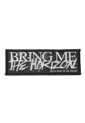 Bring Me The Horizon - Horror Logo - Aufnäher