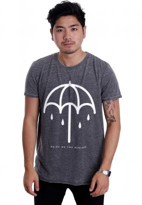 Bring Me The Horizon - Umbrella Burnout Grey - T-Shirt